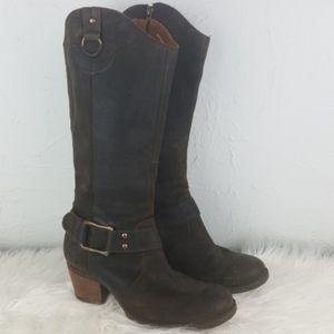 BORN Loreza Leather Boot Timber Wolf  9